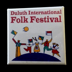 Duluth Button - Folk Festival