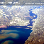 Duluth and Superior Photo Tweet From Space