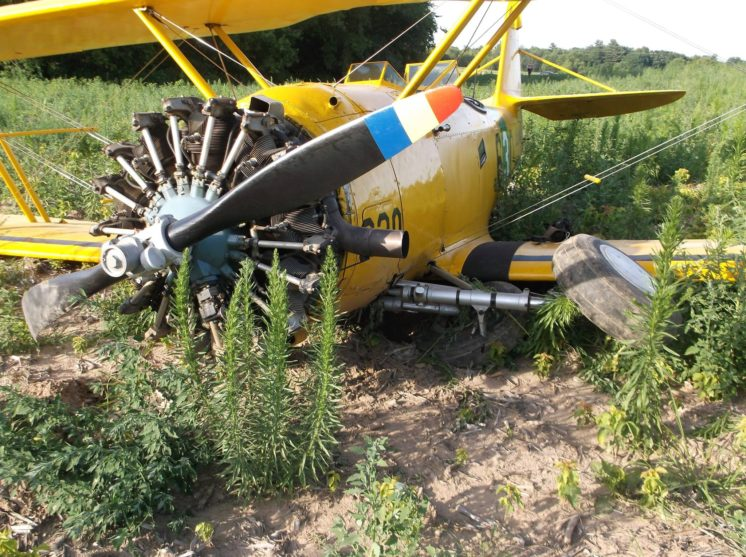 Plane crash in Stanchfield